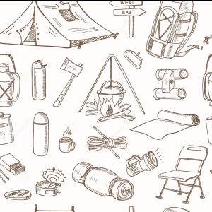 materiali campeggio